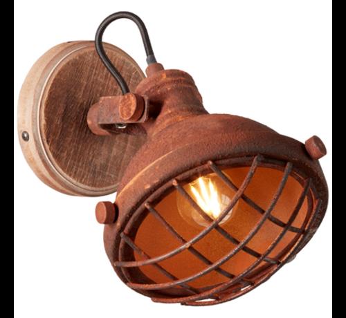 Brilliant Brilliant MILA Wandlamp E14 Roest