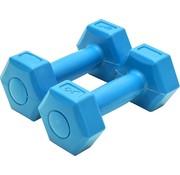 XQ Xq Max Dumbells 1 Kg Cement 2 Stuks Blauw