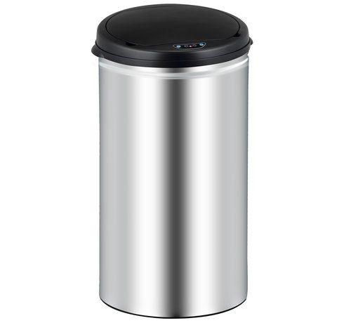 Deuba Deuba Sensor vuilnisbak roestvrij staal 30 liter