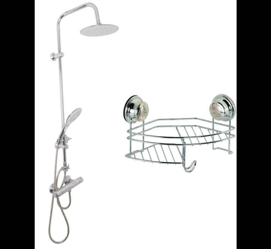 EDCO Bath & Shower Regendouche + Handdouche (Rond) INCLUSIEF Doucherek