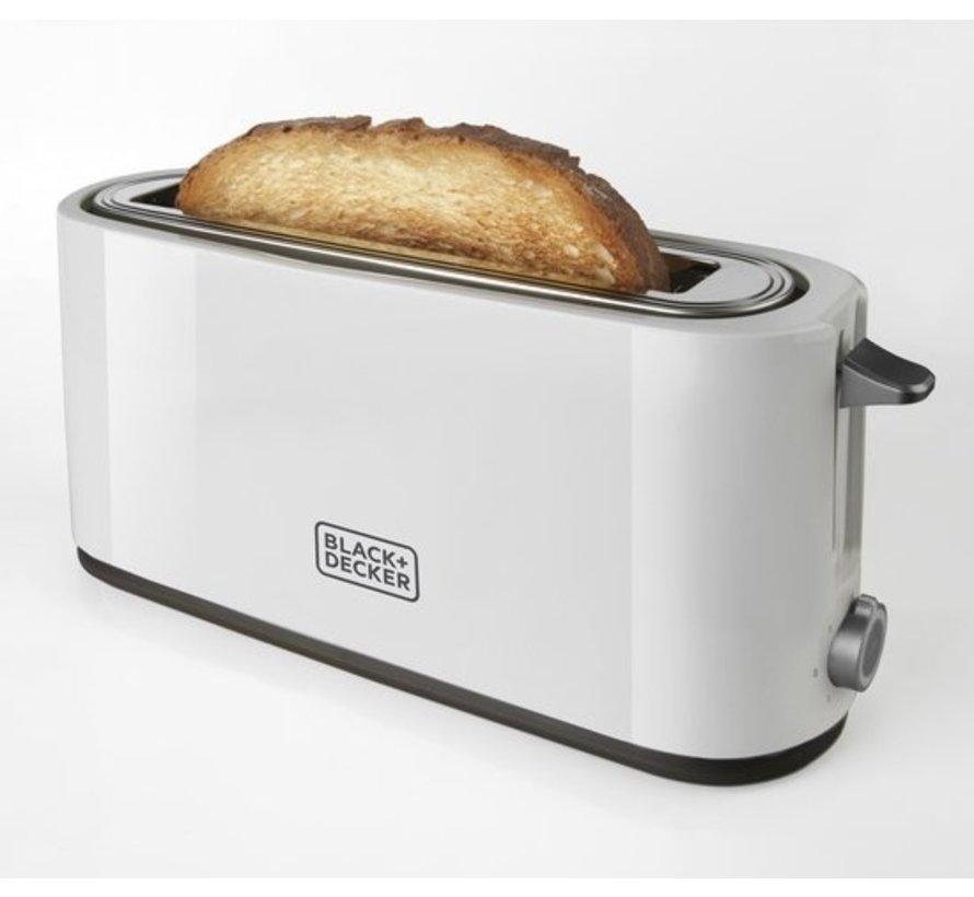 BLACK+DECKER Broodrooster BXTO1001E - Brede Opening - 7 Bruinings-Instellingen - 1000 Watt