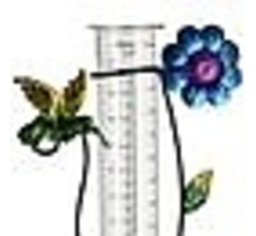 Deuba Zonne-energie-verlichting met regenmeter groen