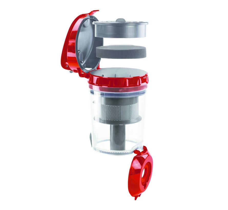 Herenthal Stofzuiger met Cycloonfiltratiesysteem - 3 Liter