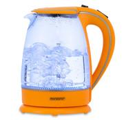 Deuba Deuba Waterkoker Oranje Glas 1,7L