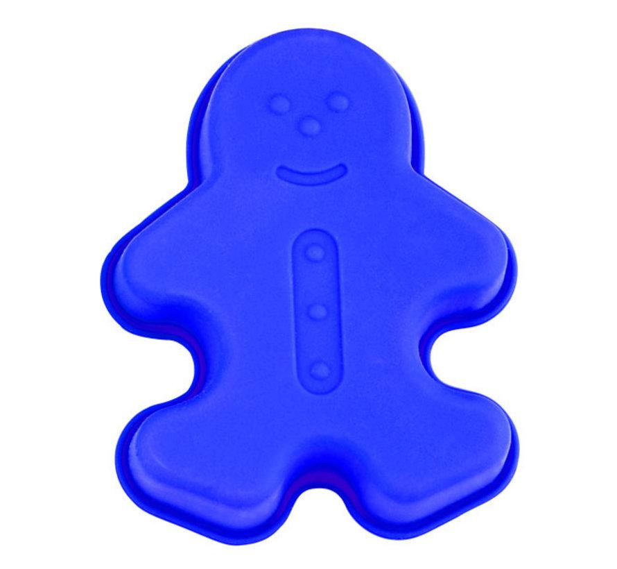 Blaumann BL-1293 Sneeuw kid-vormige cake vorm Blauw