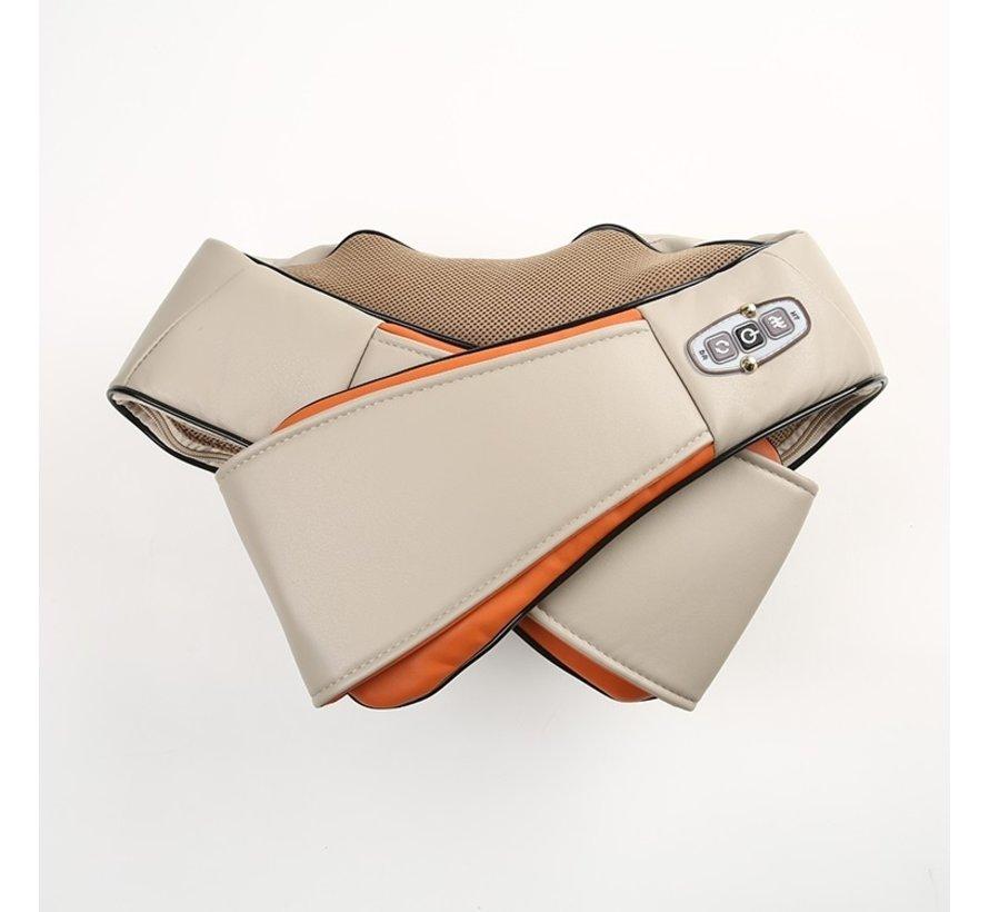 Cenocco Beauty CC-9042- Intensieve massager van de nek schouders armen en lichaam Beige/Orange