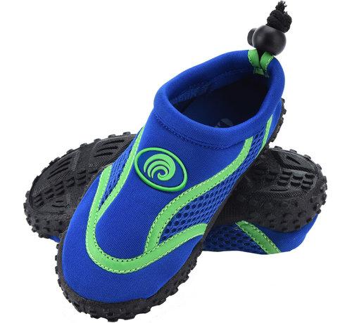 Deuba Deuba Zwemschoenen/Waterschoenen Kinderen Maat 34 Blauw/Groen