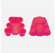 Blaumann Blaumann Siliconen cakevorm gevormde beer Roze
