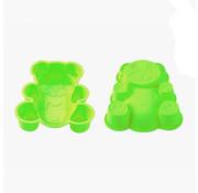 Blaumann Blaumann Siliconen cakevorm gevormde beer Groen