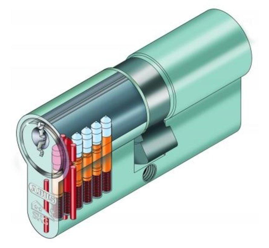Abus halve cilinder E60NP 10/30