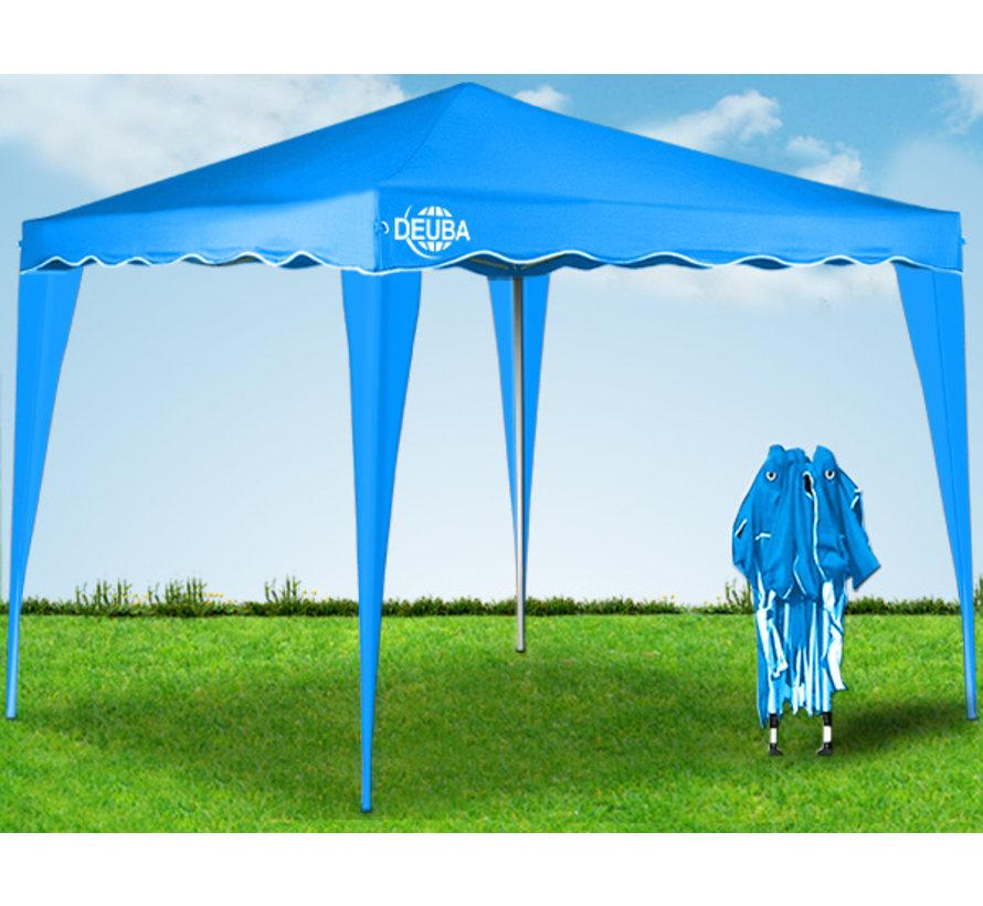 Deuba Vouwpaviljoen. party tent  Capri - Popup lichtblauw 3x3m