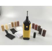 Laminatefixer Reparatieset voor laminaat + set met 11 kleuren Hard Wax staven