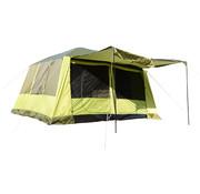 Outsunny Outsunny Campingtent voor 4 tot 8 personen geel/groen 410 x 310 x 225cm