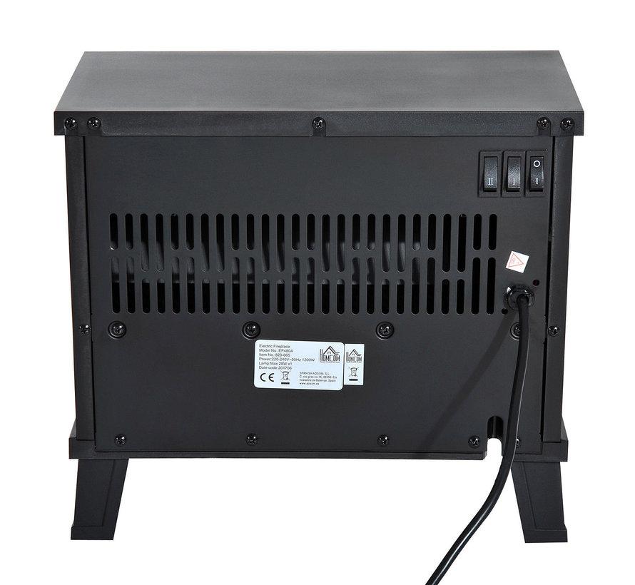 HOMCOM Elektrische openhaard 600