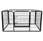 PawHut PawHut Afrastering voor Huisdieren - Binnen/Buiten - 125 x 80 x 70 cm