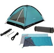 Redcliffs Redcliffs Kampeerset - 2-personen - Tent (120x200x100 cm) + Slaapzakken + Matjes