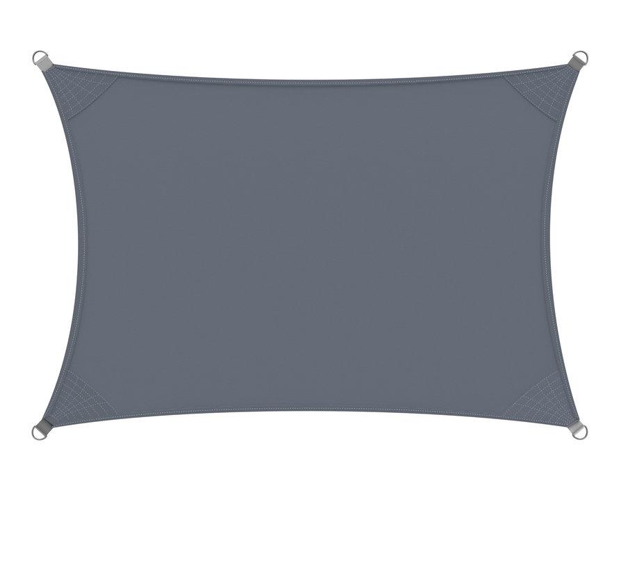 Detex Zonnescherm Oxford rechthoekig antraciet 2x4m