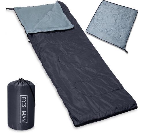 Deuba Deuba Freshman slaapzak antraciet - 190x75cm tot -6°C