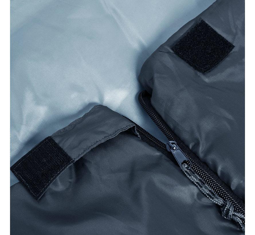 Deuba Freshman slaapzak antraciet - 190x75cm tot -6°C
