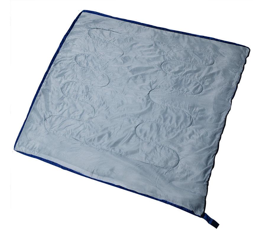 Deuba Freshman slaapzak donkerblauw - 190x75cm tot -6°C
