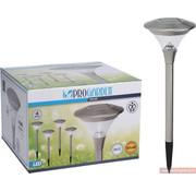 ProGarden 4x Progarden Solar Tuinlamp 47cm (Gaat automatisch aan)