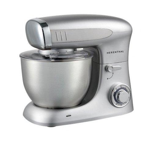 Herenthal Herenthal Keukenmachine 1900W - Zilver