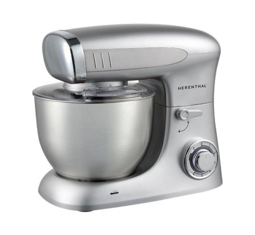 Herenthal Keukenmachine 1900W - Zilver