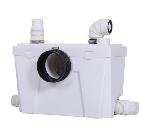 HOMCOM HOMCOM Rioolwaterpomp voor toilet en douche 400W 110L/min