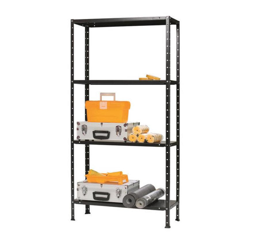 ERRO Opbergrek Stelling metaal  - 150 x 73 x 30 - Max. 200kg - In hoogte verstelbaar