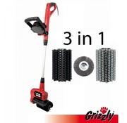 Grizzly Tools Grizzly Elektrische voegenborstel ERB 550-3U550 Watt