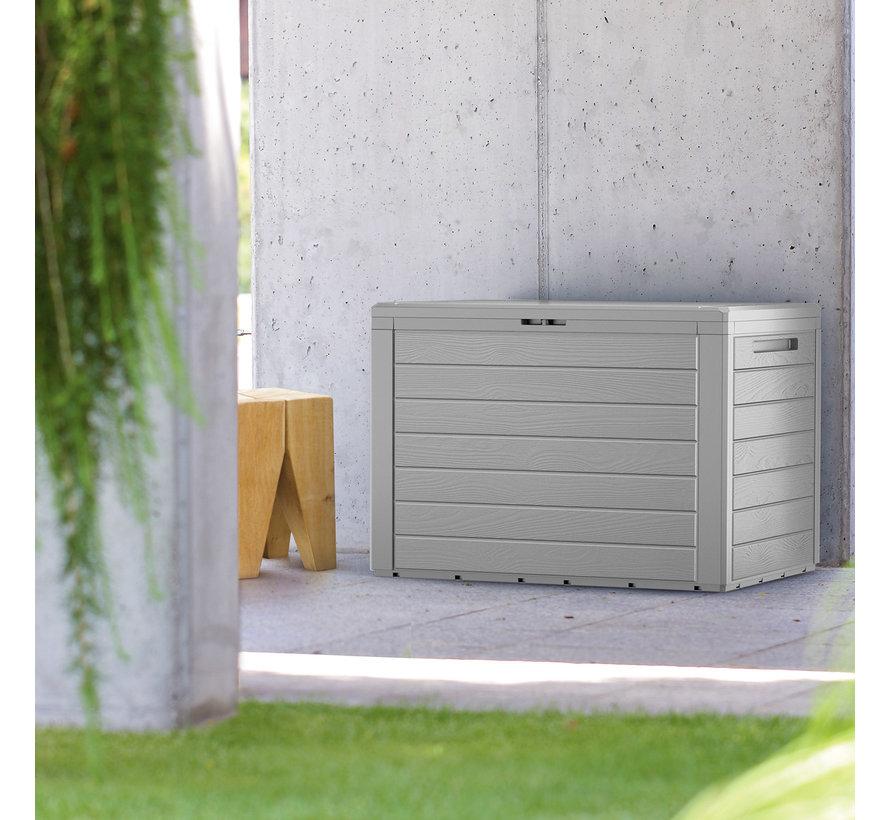Deuba Opbergbox/ Tuinkist - Grijs - 78x43,8x55cm