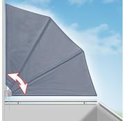 Deuba Deuba Zonwering - Opvouwbaar - Antraciet - 140x140cm