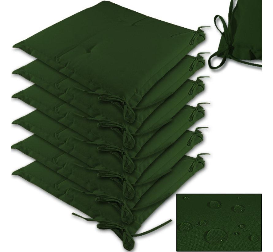 Detex Zitkussen - 6stuks - Groen- 43x39x5cm