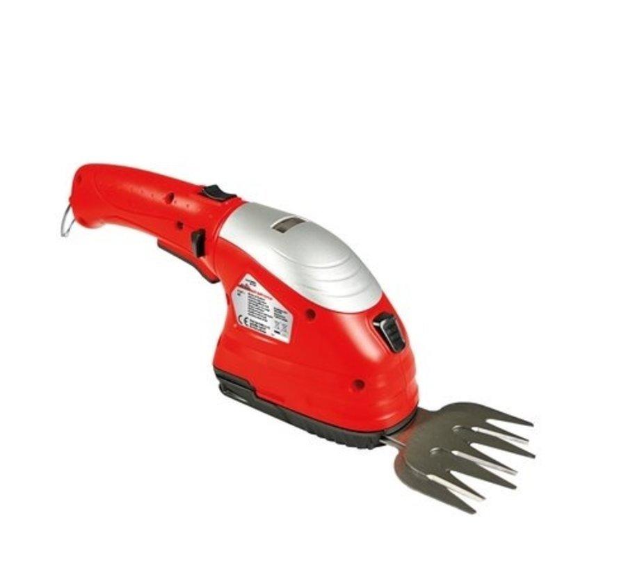 Grizzly Tools accu gras- en buxusschaar set - incl. Accu en oplader - AGS 3680-2 D-Lion