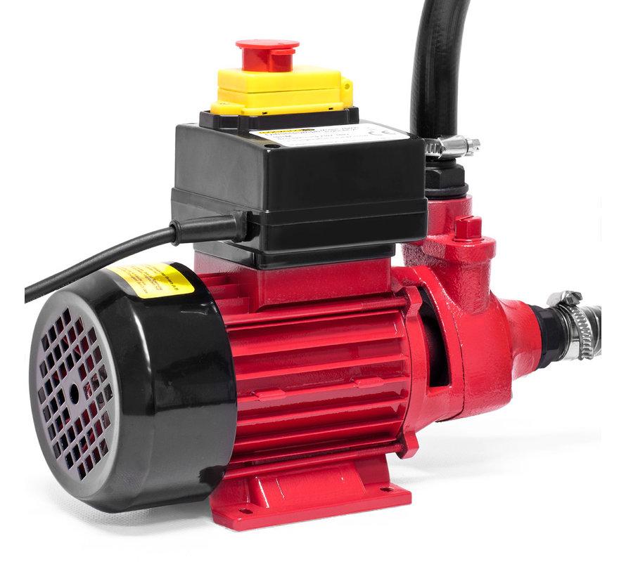Deuba Dieselpomp Oliepomp - 600W - 2400L/u - incl. accessoires