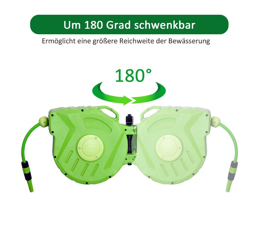 Durhand Wandslangenbox groen 45 x 21 x 35,5cm