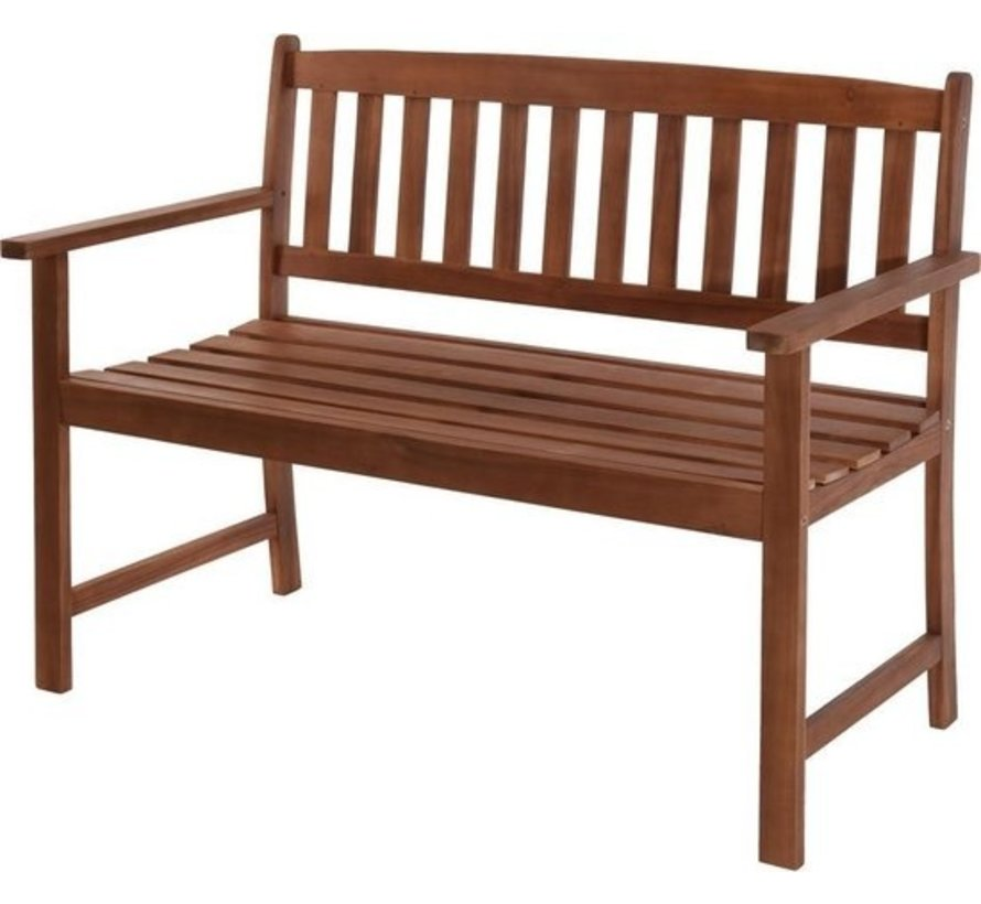 Bistro bank - 2 zits Acacia hout - 110x65x86cm
