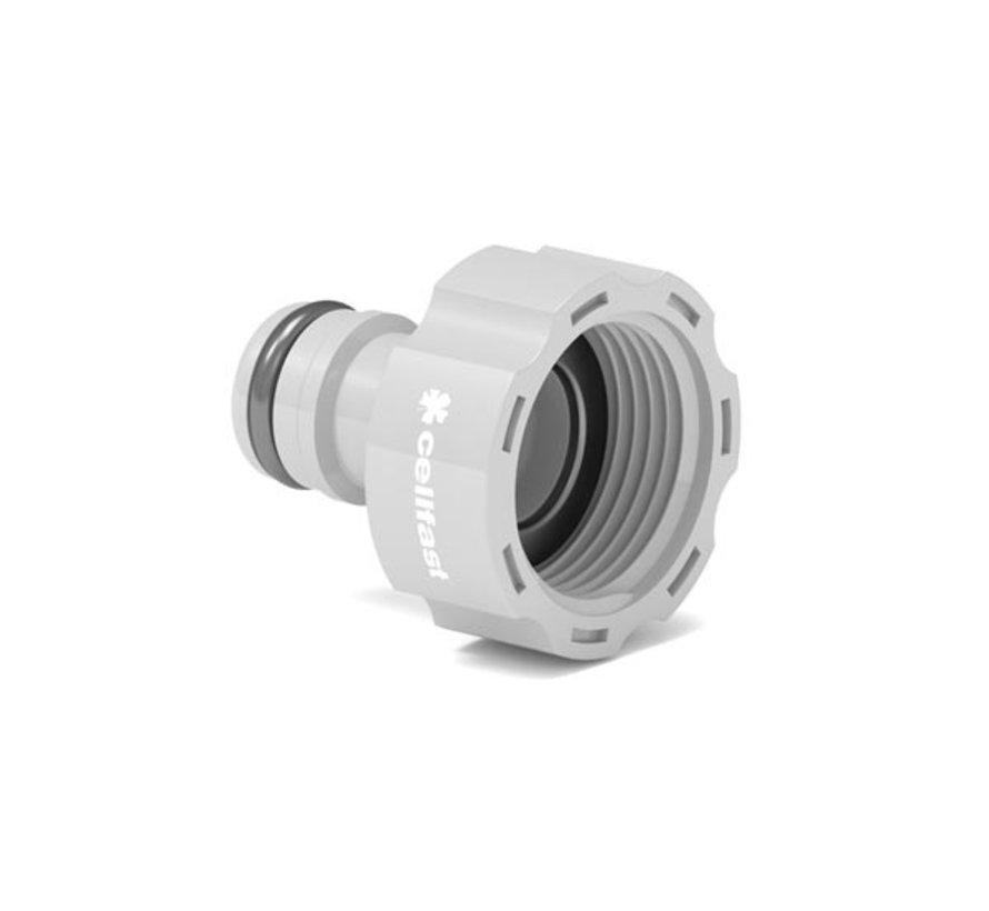 Cellfast CF50-660 kraanaansluiting 1 inch