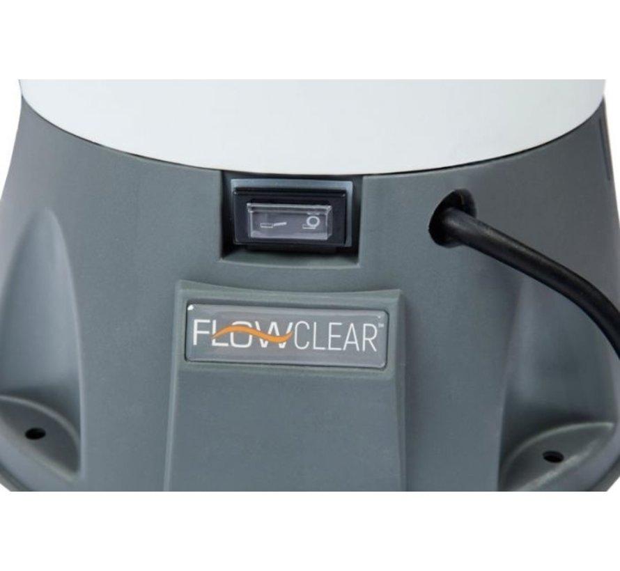 Bestway Flowclear zandfilter 3,0 m³/u - 16 m³ - 230V