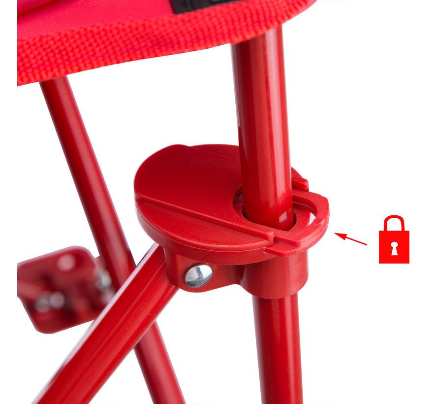 Deuba Kinder Tuinstoel/ Vouwstoel/ Klapstoel - 2stuks - Lieveheersbeestje - 61x56x34cm