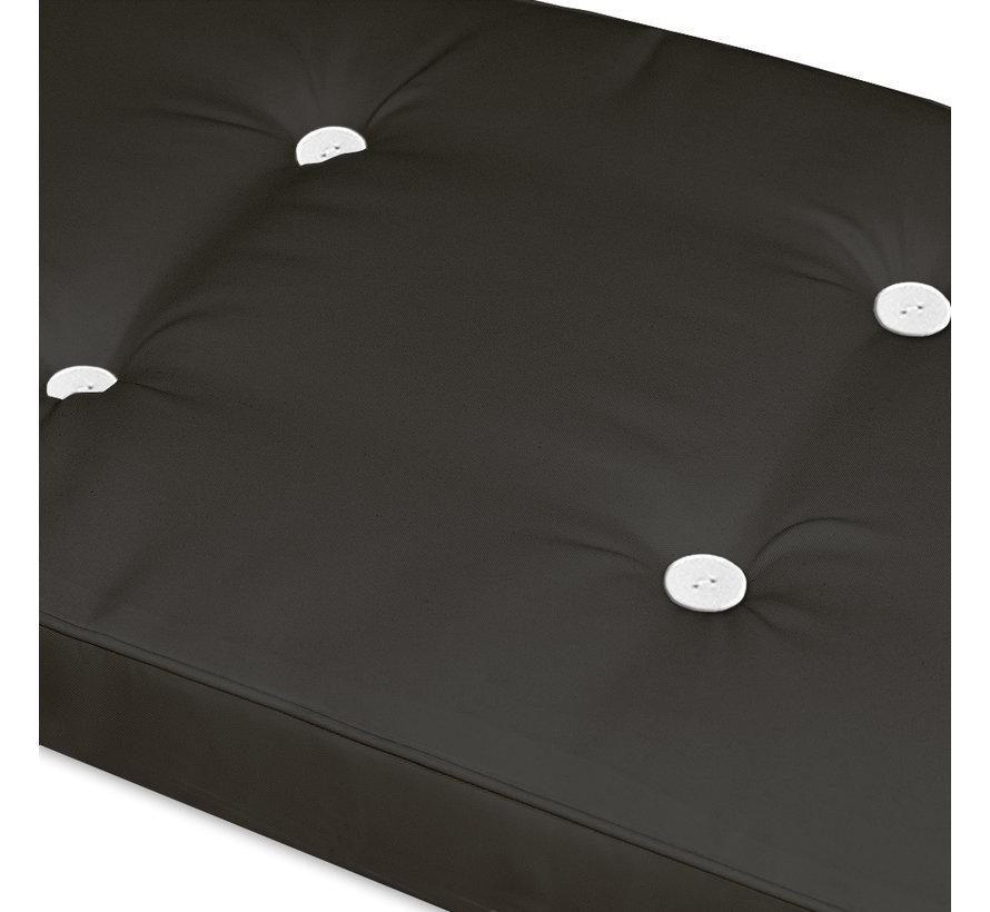 Detex Tuinkussen - Voor Ligbed - 173x43x6cm - Antraciet