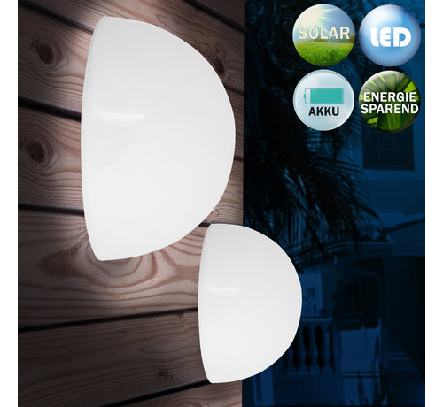 Deuba Deuba LED 3-delige zonne-energie lampenset