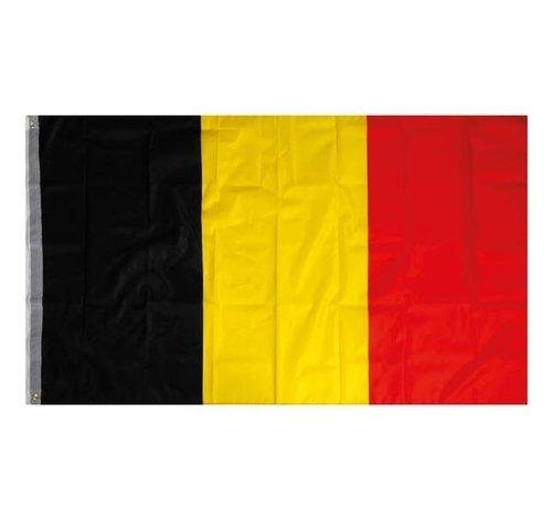 OneTools België vlag / Belgische Vlag - 90 x 150 cm - Zwart / Geel / Rood