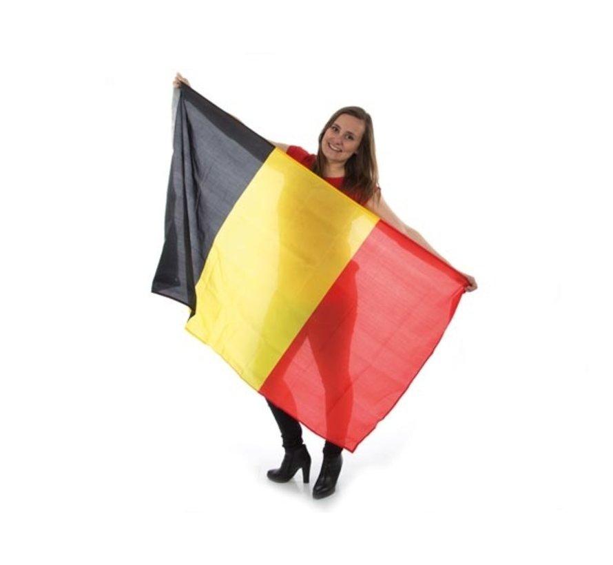 België vlag / Belgische Vlag - 90 x 150 cm - Zwart / Geel / Rood