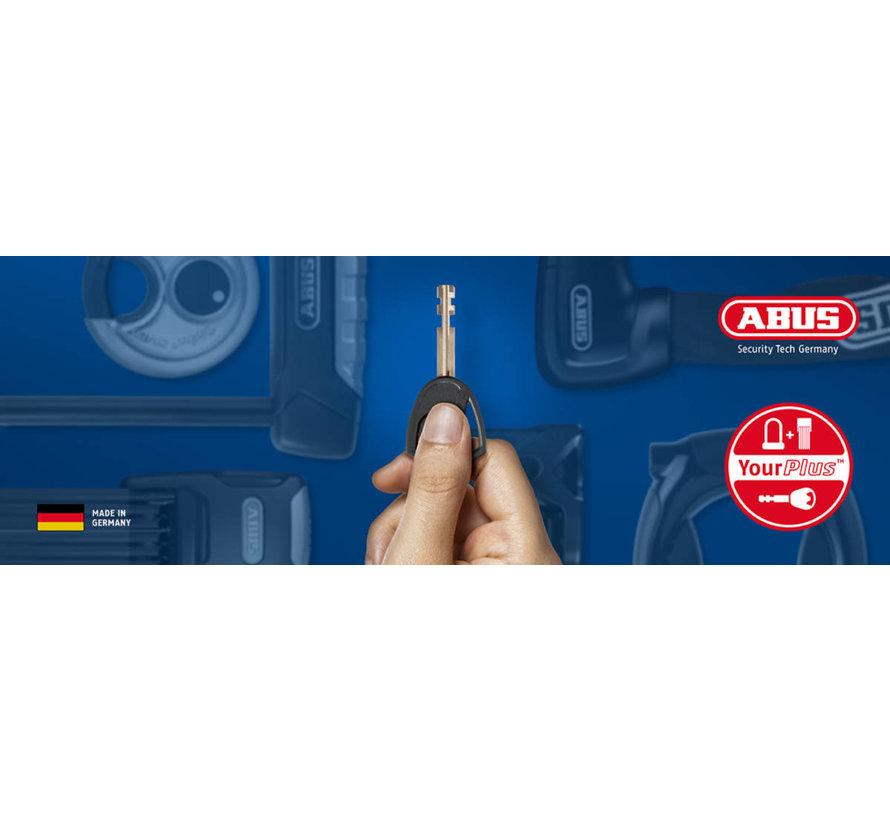 Abus cijfer kettingslot 1200/110 ART2   Zwart   110 cm ketting 4 mm   260 g