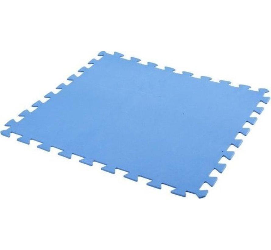 Free And Easy Zwembadtegels Foam Blauw 9 Stuks