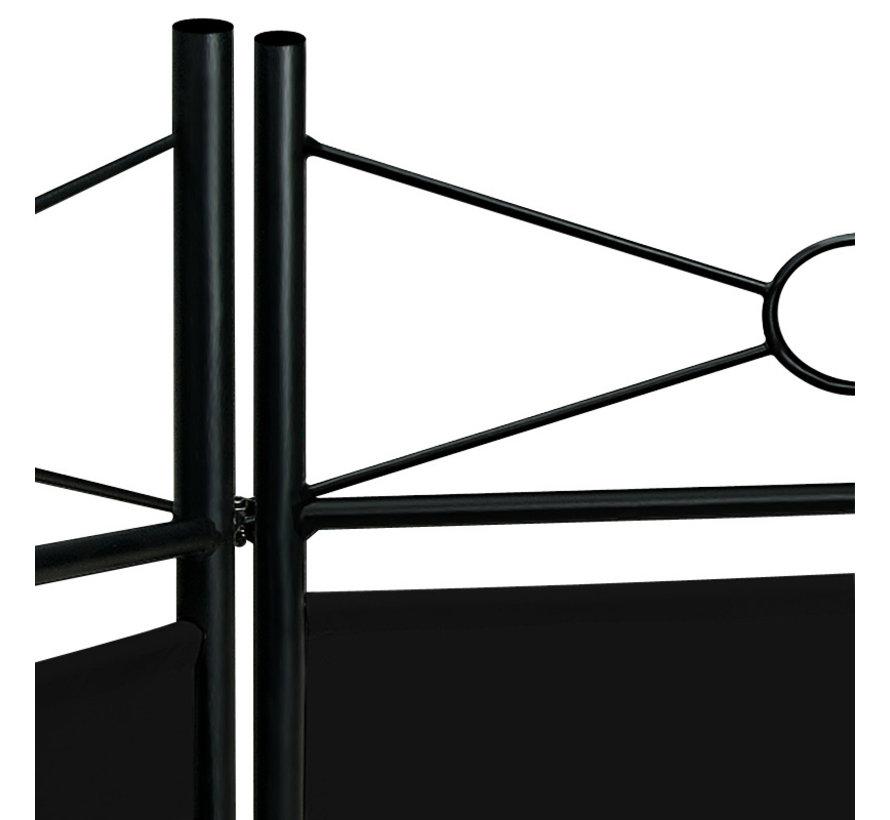 Deuba kamerscherm - zwart - 180 x163cm - Polyester