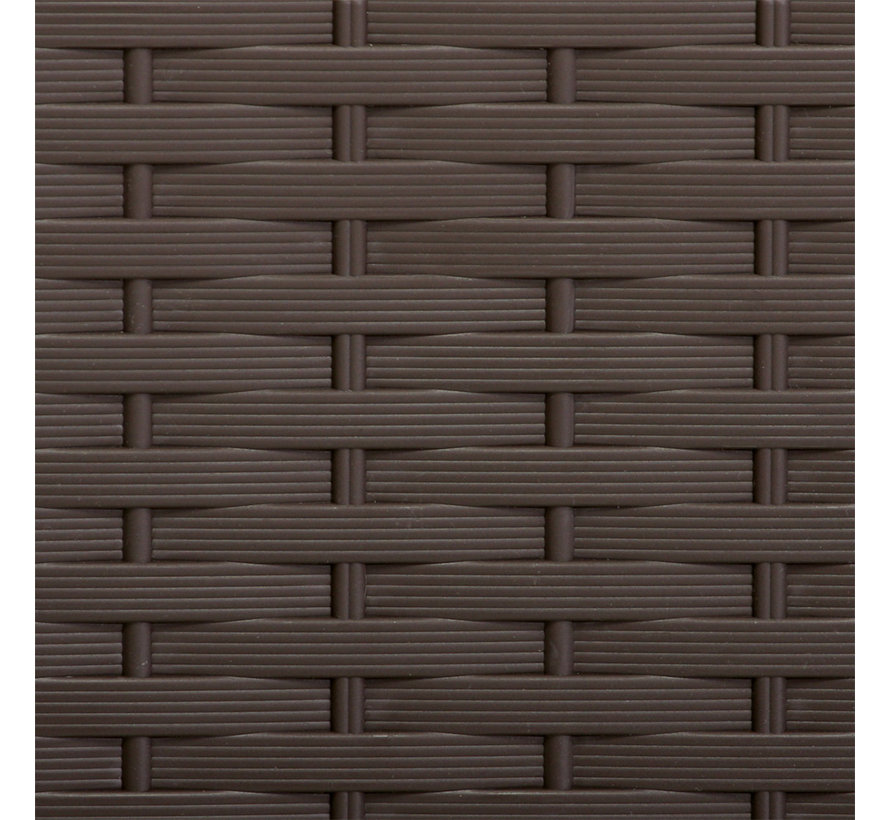 Deuba Opbergbox Bruin 119x48x60cm
