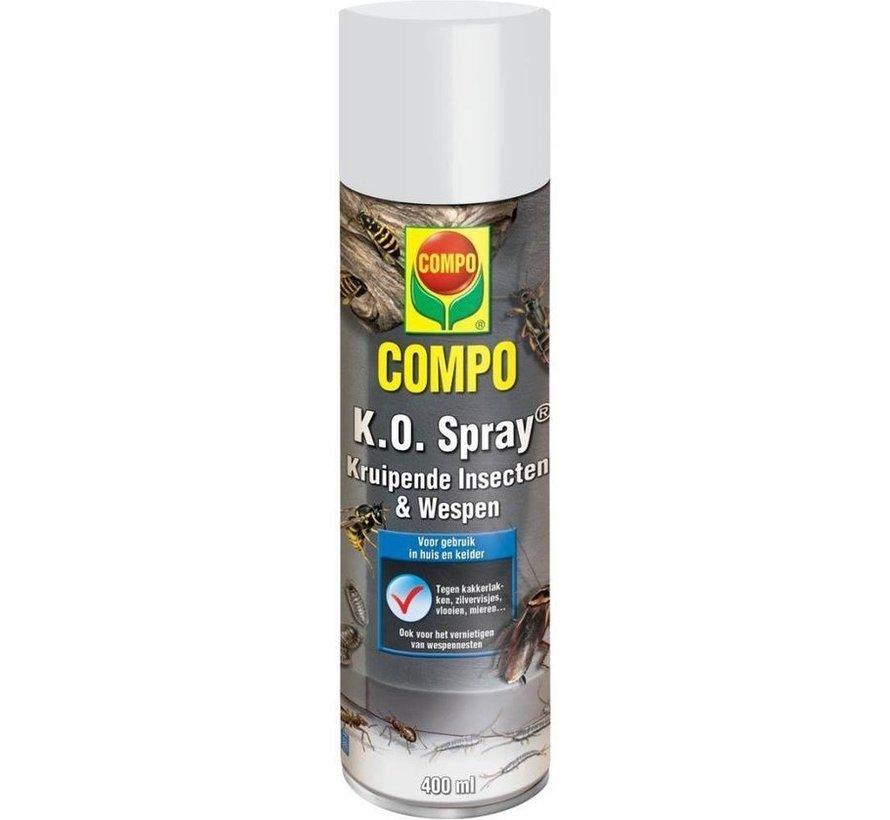 Compo K.O. Spray- Kruipende Insecten en wespen - 400 ML