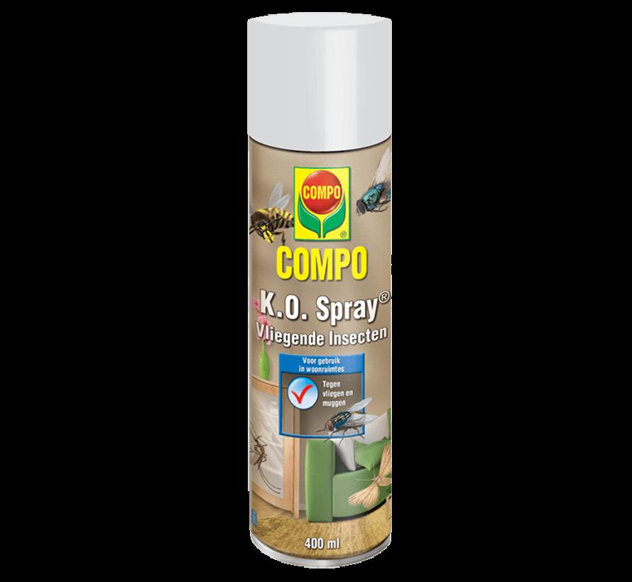 Compo K.O Spray- Vliegende insecten - 400 ML